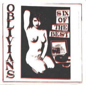 "Oblivians – Six Of The Best - 1995 Garage Punk  6 Trk 10"" EP"