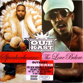 OutKast - Speakerboxxx / The Love Below - 2003 Ambitious Hip Hop - Sealed  4LP