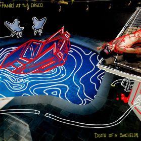 Panic! At The Disco – Death Of A Bachelor - 2015 EMO Pop Punk - Silver Vinyl - LP
