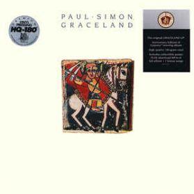 Paul Simon - Graceland - 25th Ann. Ed - 1986 Rock HQ Audiophile - Sealed 180 Grm LP + Poster