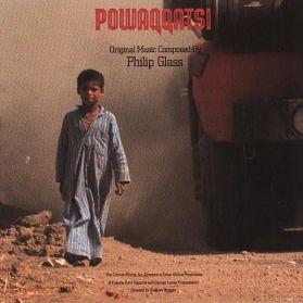 Philip Glass - Powaqqatsi - OST - 1988 Classical 20th Century Exp - Black Transluscent Vinyl LP