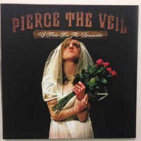 Pierce The Veil – A Flair For The Dramatic - 2007 Pop Punk Post Hardcore - Ltd Ed Orange Vinyl LP
