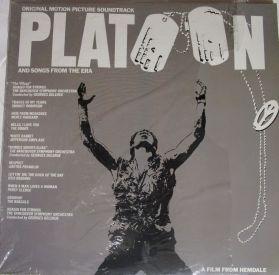 Platoon - OST - Aretha Franklin - Otis Redding - Jefferson Airplane - The Doors - 1986 Soundtrack  LP in Shrink