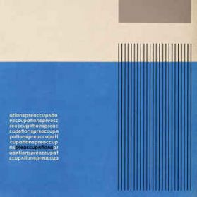 Preoccupations ‎– Preoccupations - 2016 Post Punk Noise Rock Clear Vinyl LP
