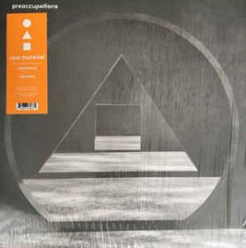 Preoccupations ‎– New Material - 2018 Post Punk Noise Rock - Orange Vinyl LP - 1000 Copies