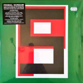 "Primal Scream – Mixomatosis - 2017 RSD Alt Rock - Green Cover - 5 Trk 12"" EP"