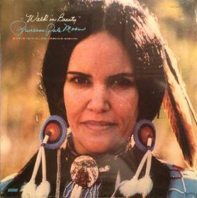 Princess Pale Moon – Walk In Beauty - 1977 Native American Xian Gospel Folk - Original US LP