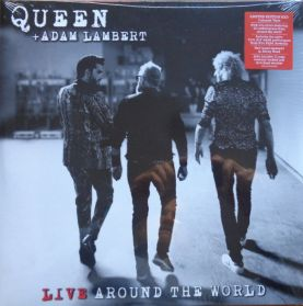 Queen + Adam Lambert  - Live Around The World - 2020 Rock -  Ltd. Red Vinyl  2LP