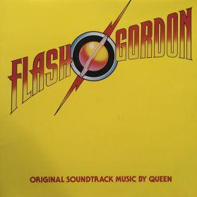 Queen – Flash Gordon (Original Soundtrack Music) - 1980 LP in Shrink W/ Sticker + Poster