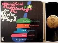 Ruggiero Ricci - Violin Plus 1 - 1970 Original Decca Gold Label - Classical LP
