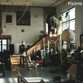 Rival Schools - Found - 2013 Post Hardcore Punk Alt Rock - Half Clear / Green Vinyl 180 Grm LP 200 Copies Only