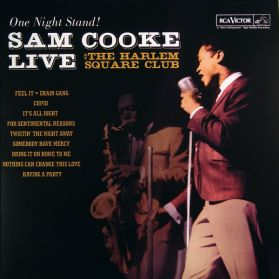 Sam Cooke - Live at the Harlem Club  - 1963 Intense Soul Performance  - Sealed  180 Grm LP