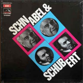 Schnabel and Schubert - Spontaneity, Warmth and Humanism - EMI - Odean 3LP
