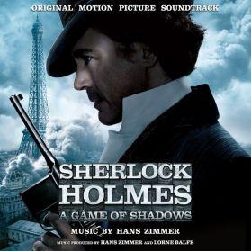 Sherlock Holmes: A Game Of Shadows  ( Original Motion Picture Soundtrack)  Hans Zimmer – Silver Black Vinyl Numbered  - Sealed 180 Grm 2LP