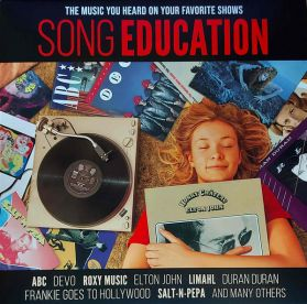 Song Education - Compilation - Sex Education, Stranger Things, Family Guy, Riverdale -  2021 TV Soundtrack Synth Pop Rock - Red Vinyl - Sealed LP