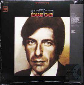 Leonard Cohen – Songs Of Leonard Cohen - 1967 Folk Rock - Sealed 180 Gram LP