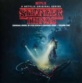 Stranger Things - Volume One (A Netflix Original Series) - 2016 Red and Blue - Sealed 2LP + Poster + Postcards