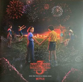 "Stranger Things 3 (Music From The Netflix Original Series) - 2019 Soundtrack - Black Vinyl 2LP + 7"" + Poster"