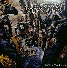 Suffocation ‎– Souls To Deny - 2004 Death Metal LP + Insert