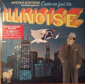 Sufjan Stevens - Illinoise - 10th Ann. 2005 Indie Folk Rock  - Triple Gatefold  Sealed 2LP + Shaped Disc