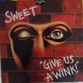 Sweet – Give Us A Wink - 1976 Original US Issue - Glam Rock - Sealed LP