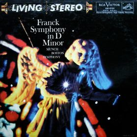 Franck - Symphony In D Minor - Munch - Boston Symphony 1957 Classical - Original Canada Issue Stereo LP