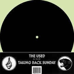 """Taking Back Sunday and The Used - S/T - Indie Alt Rock Pop Punk 4 Trk 10"""" EP"""