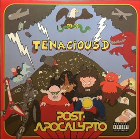Tenacious D – Post-Apocalypto - 2018 Comedy Hard Rock Soundtrack - Green Vinyl LP