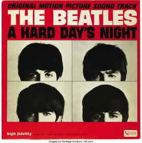 The Beatles – A Hard Day's Night (Original Motion Picture Soundtrack) - 1964 Rock - Original Canada Issue LP