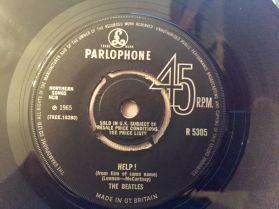 "The Beatles – Help! / I'm Down - 1965 Rock - UK Original 7"" 45"