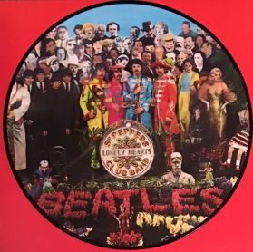 Beatles – Sgt. Pepper's Lonely Hearts Club Band - 1967 Psych Rock - Sealed Pic Disc LP