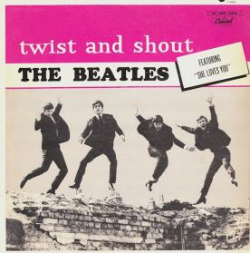 The Beatles - Twist And Shout - 1964 Rock - Original Canada Issue Rainbow Label Mono LP