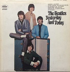 The Beatles – Yesterday And Today - 1666 Rock - Trunk Cover - Red Label Canada Stereo LP