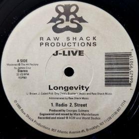 J-Live - Longevity -Ground Breaking Underground 12