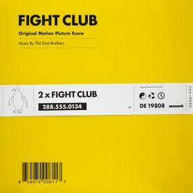 The Dust Brothers – Fight Club (Original Motion Picture Score) 1999 Trip Hop Soundtrack - Ltd PInk Splatter  Vinyl - Sealed 2LP