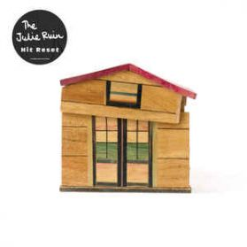 The Julie Ruin – Hit Reset - 2016 Alt Indie Art Punk Rock - White Vinyl LP