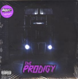The Prodigy ‎– No Tourists - 2018 Electronic Dance Big Beat D + B - Clear Violet Vinyl - Sealed 2LP