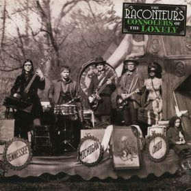 The Raconteurs - Consolers Of The Lonely - Searing Guitar Notes - 2008 Alt Indie Rock 180 Grm 2LP