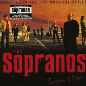 The Sopranos - Peppers & Eggs - Music From The HBO Original Series - 2001 TV Soundtrack - Green W/ Brown Splatter Vinyl 2LP