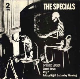 The Specials - Ghost Town - Why? - Friday Night - 1981 2 Tone - Ska 3 trk 12 EP in Shrink