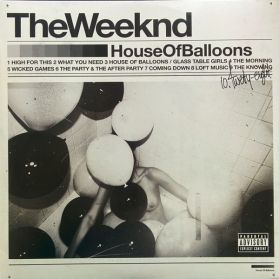 The Weeknd - House Of Balloons  - 2011 R + B - Sealed  2LP