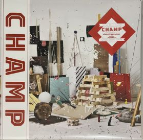 """Tokyo Police Club – Champ - 2010 Canadian Indie Art Rock - 10th Anniversary Edition - Coke Bottle Clear Vinyl - LP +  7"""" 45"""