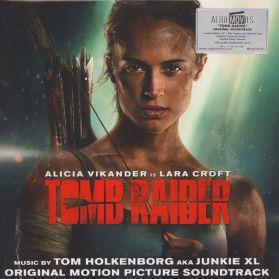 Tomb Raider (Original Motion Picture Soundtrack) Tom Holkenborg AKA Junkie XL - 2018 – Clear & Red Vinyl - Sealed  180 Grm 2LP