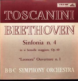 Beethoven - Sinfonia n. 4 - Arturo Toscanini  - USA Seraphim - Remarkably good sound