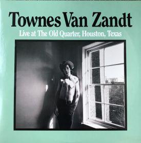 Townes Van Zandt - Live at The Old Quarter - 1977 Texas Country Blues - Folk Rock - 180 Grm 2LP