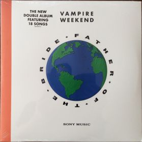 Vampire Weekend – Father Of The Bride - 2019 Indie Rock - Sealed 2LP + Poster