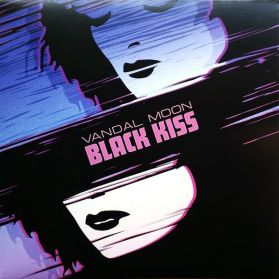 Vandal Moon – Black Kiss - 2020 Synthwave Darkwave- Blue Vinyl LP