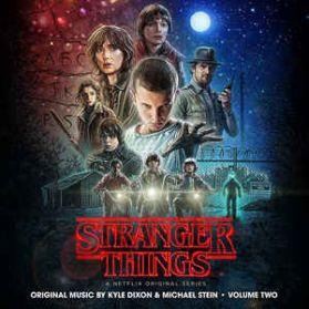 Stranger Things - Volume Two (A Netflix Original Series) 2016 VHS Black - Sealed 2LP