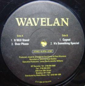 Wavelan – It Will Stand -  1994 Hardcore Techno  4 Trk 12 EP -  Listen