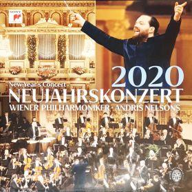 Wiener Philharmoniker, Andris Nelsons – Neujahrskonzert 2020 - Classical  - Sealed 180 Grm 3LP